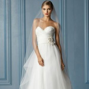 WATTERS Wtoo Style#10536 Madison Size 14 Ivory
